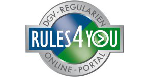 Logo - RULES4YOU Regularien-Online-Portal des Deutschen Golf Verbandes