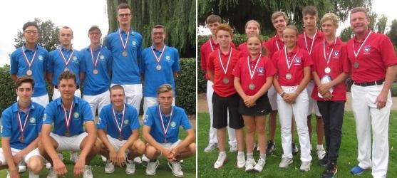 39. HGV-Jugendmannschaftspokal 2019 Bronze Team aus Main Taunus und Vize-Meister aus Kassel